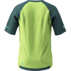 Zimtstern PureFlowz SS Shirt Men pacific green/sharp green/florida keys
